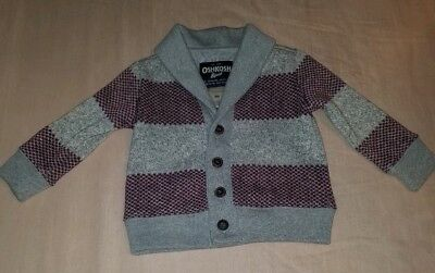 d38854f0c LILAX BABY BOY Cable-Knit Basic Knit Cardigan Sweater 9-12 Months ...