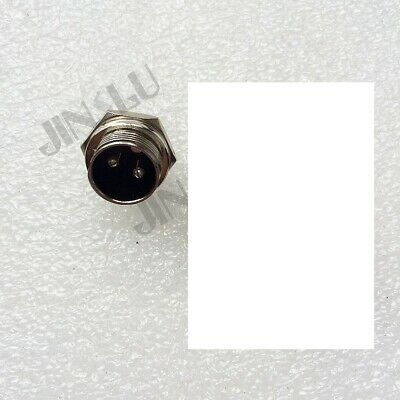 2 Pins 2-Pin Male Plug Socket Connector for TIG Welding Torch Cutting Torch 2PK