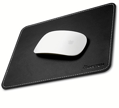 Black Leather Gaming Mouse Pad Large Mat For Computers Laptop PC Desk Anti-Slip