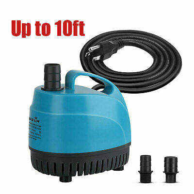 800GPH Submersible Water Pump Aquarium Pond Hydroponics Fountain Pump 3000L/H