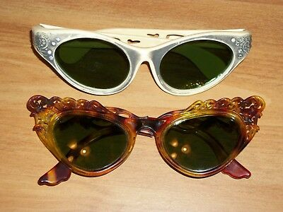 Vintage Lot of 2 Pair Sunglasses