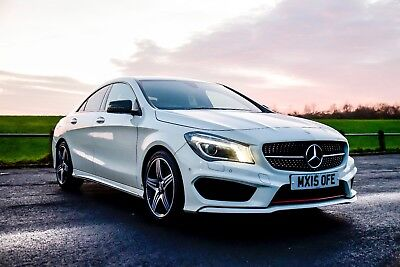 Mercedes-Benz CLA 2.0 CLA250 Engineered by AMG 7G-DCT 4MATIC Automatic 4dr