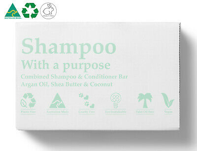 GIFT IDEA Shampoo & Conditioner Bar (Eqv: 6 x Bottles of Shampoo & Conditioner)