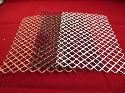 6 Lattice Backgrounds...........kraft....black....white..............cardmaking