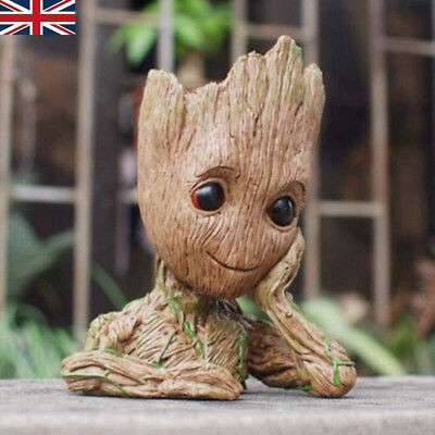 "Guardians of The Galaxy Vol.2 Baby Groot 6.2"" Figure Flowerpot Plant Pot Gift UK"