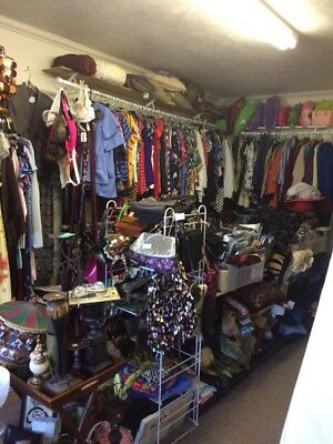 Thrift Store Inventory & Shelving For Sale New & Used Items of All Descriptions