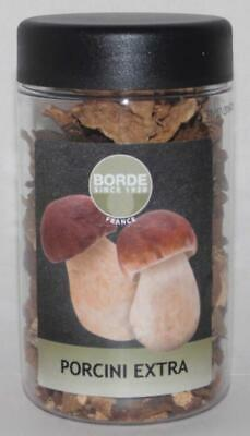 Wild Porcini Mushrooms Dried Extra by Borde, France 40g