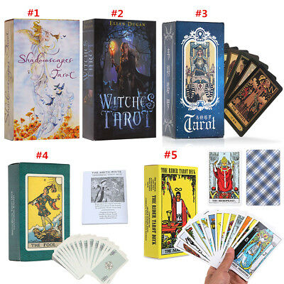 The Wild Unknown Tarot Deck Rider-Waite 78pcs Fortune Telling Card Witches Tarot