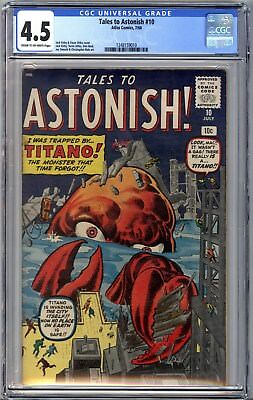 Tales to Astonish #10 (Jul 1960, Marvel) CGC Graded 4.5 #1248159010