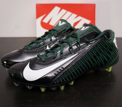 f9aee2695218 Mens NIKE CARBON VAPOR ELITE TD 2.0 FOOTBALL CLEATS 12.5 BLACK GREEN  657441-022