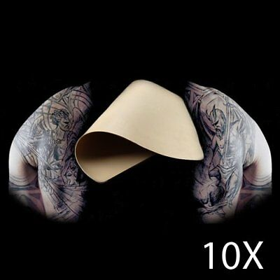 "8""x6"" Premium Blank Tattoo Practice Skin For Needle Machine Supply Dual Side Kit"