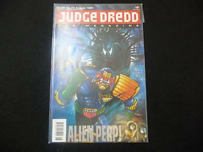 Judge Dredd Megazine volume 1 issue 11 VGC (LOT#2555)