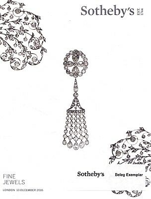 FINE JEWELS: Sotheby's Katalog London 16 +results