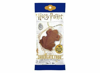 Harry Potter Chocolate Frog with Wizard Trading Card 15g
