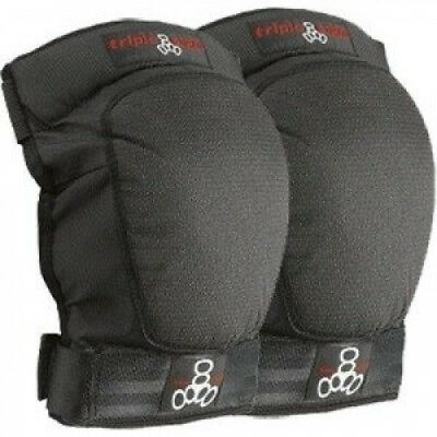 Triple 8 D-Tec Black Large Knee Skateboard Pads. Shipping Included