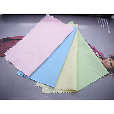 Microfiber Phone Screen Camera Lens Glasses Cleaning Cloth Square Cleaner 100pcs