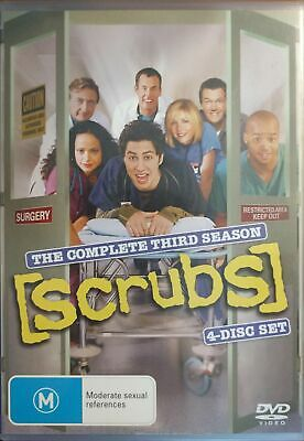 Scrubs : Season 3 (DVD, 2006, 4-Disc Set)