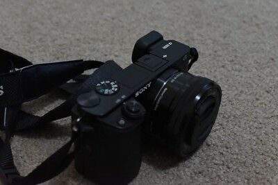 SONY A6000 Mirrorless 24.3MP Camera+16-50mm Kit  Lens + 3 x Batteries + Charger