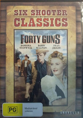 Forty Guns (DVD, 2013)
