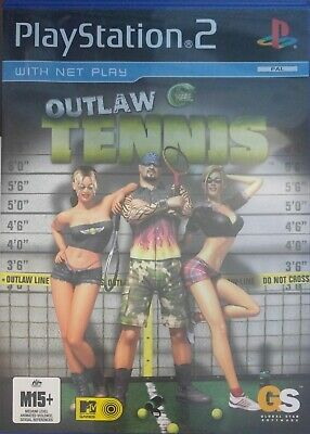 Playstation 2 PS2 Outlaw Tennis Game