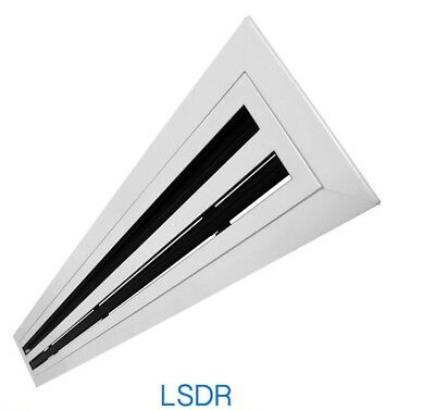 Air Con Linear Slot Diffuser Removable Core -Face:660 x 166mm Model: LSDR