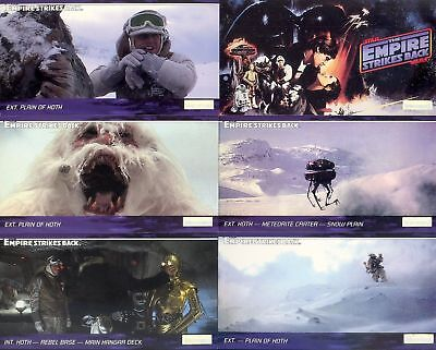 Star Wars ESB - Complete Widevision Card Set (144) Topps 1995 - NM