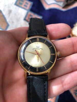 Watch Poljot luch Bicolor 23jewels very rare gold plated