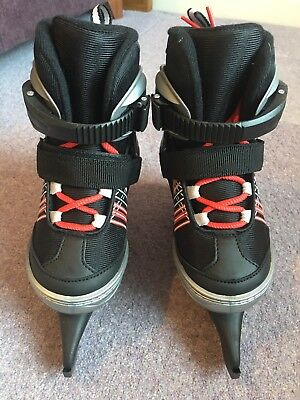 Clas Ohlson Childrens Adjustable Ice Skates Size 10 - 13