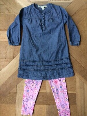 Cotton On Kids Dress And Target Leggings Size 2 Winter Bundle Baby Toddler Girl