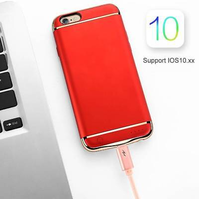"""4.7"""" External Luxury Power Bank Battery Charger Case Cover For iPhone 6 Backup"""