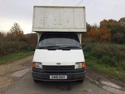 1989 Ford Transit generation Luton lumos one owner
