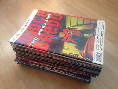 31 X Judge Dredd The Megazine / Specials / Annuals Volume 1 Issues 1-20 Complete