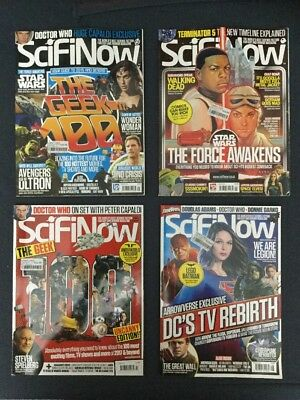 SciFi Now Issues 101 To 128