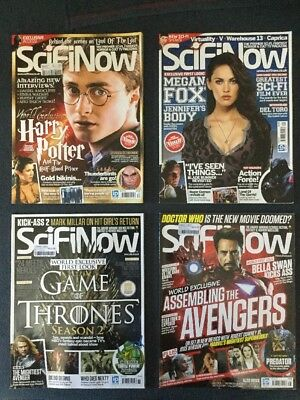 SciFi Now Issues 30 To 66