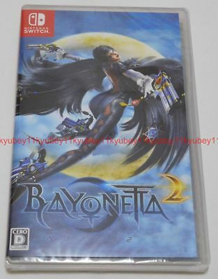 New Nintendo Switch BAYONETTA 2 Japan HAC-P-AE98A 4902370538847