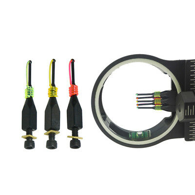 """3Pcs Replacement bow sight 0.029"""", 3/16"""" Slotted Archery Compound Bow Shooting"""