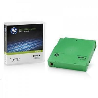 HP C7974A LTO4 Ultrium 1.6TB RW Read/Write Data Tape Read and write compatible T