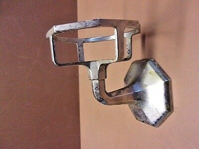 "REDUCED! Vtg Chromed Brass Wall Mounted Bathroom Cup Holder 2 3/4""  No Bracket"