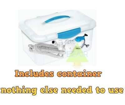 CPAP BIPAP Cleaner Sanitizing Machine mask fresh clean and easy to use Resmed