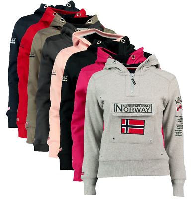 FELPA GEOGRAPHICAL NORWAY GymClass Donna Woman tascone half