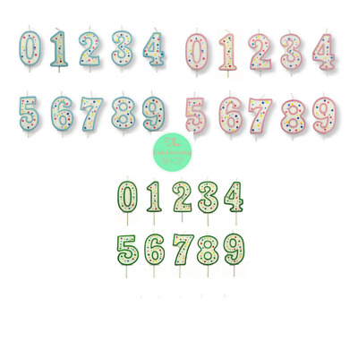 PME Number Birthday Candle Cake Numeral Pick Celebration Party Decoration
