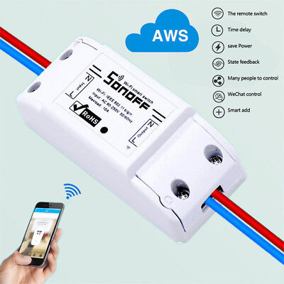 Sonoff Basic Smart Home WiFi Wireless Switch Module For IOS Android APP Ctrl CN