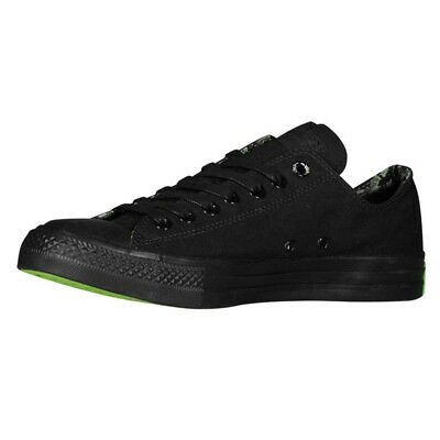42807a5c90df Mens Converse Wiz Khalifa All Star OX Low Trainers Green Sole Sneakers