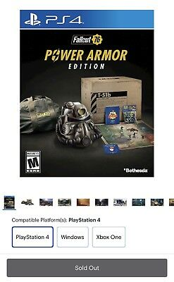 FALLOUT 76 POWER Armor Edition - PS4 Playstation 4 / Brand
