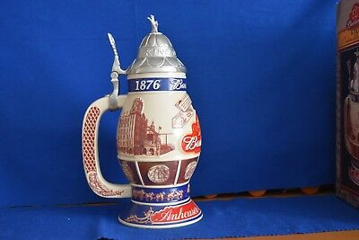 Budweiser 125TH ANNIVERSARY Limited Edition Beer Stein