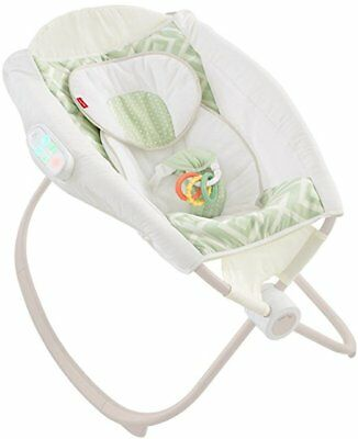 Fisher Price Rock n Play Sleeper Deluxe Auto with Smart Connect