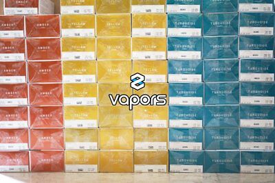Heets für IQOS (20 packs 400 heets) -Amber,Turquoise,Red,Yellow,Bronze or mix