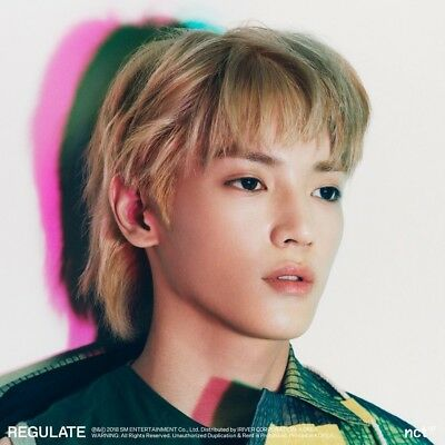 NCT 127 1st Repackage Album Regulate - Version & Photocard choice
