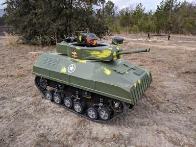 Mini Tank - for paintball or ATV use