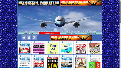 Sell Advertising Fully Automated Banner Exchange Website Free Domain Hosting SSL
